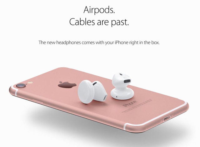 airpods as imagined by an artist