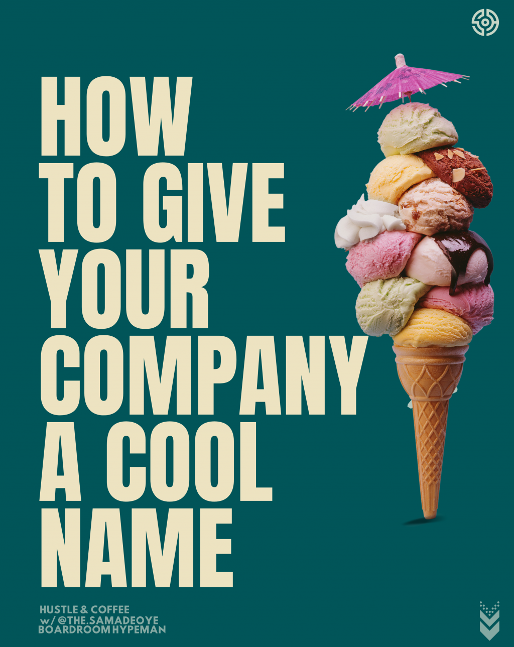 give your company a cool name - boardroom hypeman